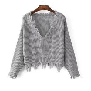 Sweaters - NWT Fringe Sweater
